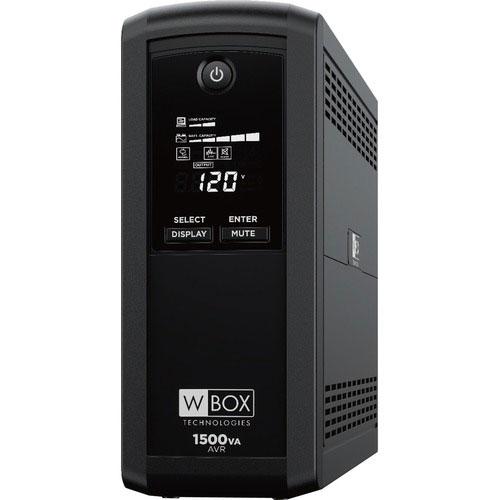 W Box Battery Back Up 1500VA/900W Line Interactive UPS