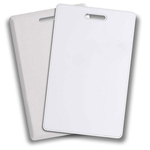 Programmable Clamshell Card, Vertical Punch - 100 Pack