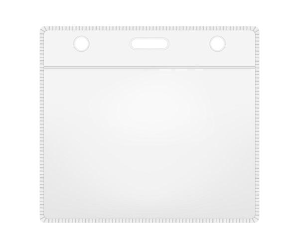 "W Box Horizontal card holder 3.94"" X 3.03'' X 040"" Slot Holes"