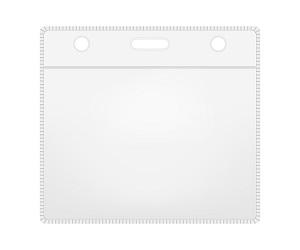 "W Box 0E-BHHOR2 Horizontal card holder 3.94"" X 3.03'' X 040"" Slot Holes"
