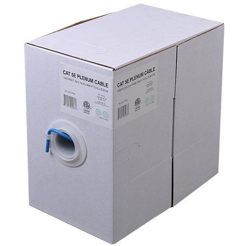 24/4 C5E CMP/FT6 BLUE 1M BOX