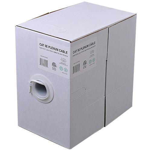 24/4 C5E CMP/FT6 WHT 1M BOX