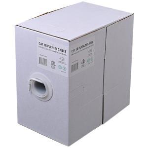 CAT 5 24/4 UTP Plenum 1000ft. Cable Box