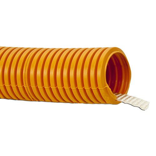 "W Box UL Listed Corrugated Flexible Conduit w/ Nylon Pull Tape 1 ¼"" X 100'"