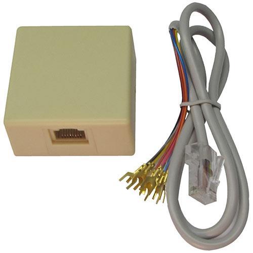 W Box 0E-RJ31XSET2 RJ31X Jack and 2ft Cord Set