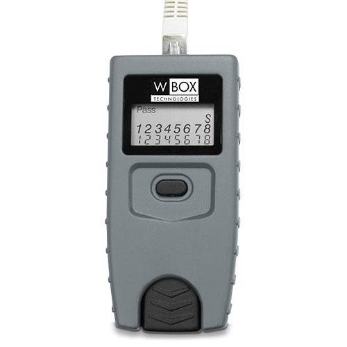 W Box  0E-RJ45TESTR RJ45 Cable Tester