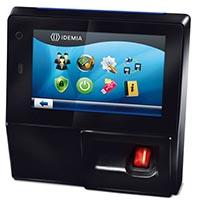 IDEMIA 293638856 MorphoAccess SIGMA WR Biometric, Card Reader Embedded RFID, HID iClass Cards