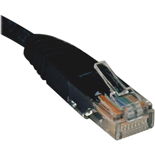 Patch Cable, CAT5e, 7ft, Black