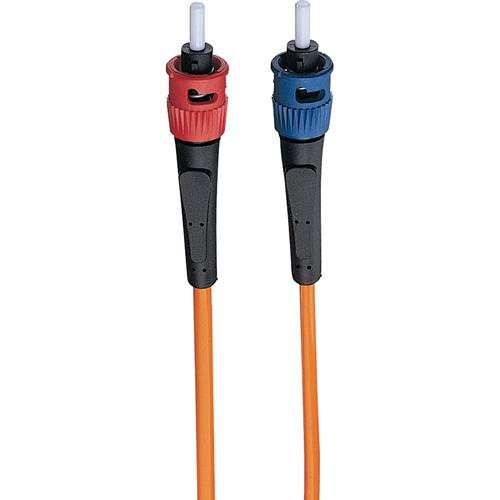 3-ft. Duplex MMF Cable ST/ST 62.5/125 Fiber