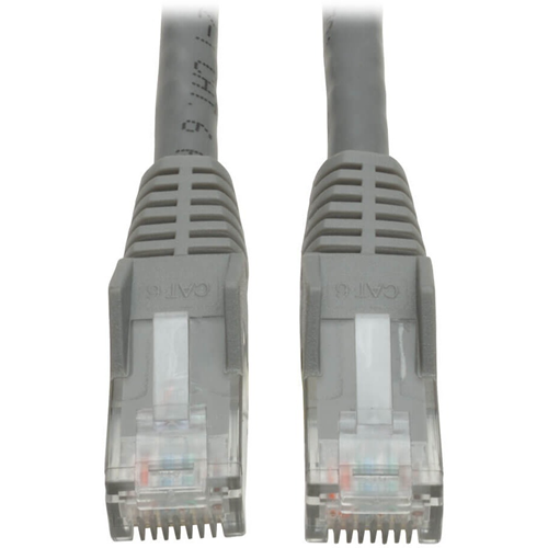 CAT6 Snagless Patch Cable, 14ft, Gray