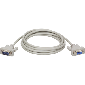 Tripp Lite 6ft DB9 Serial Extension Cable Straight Through RS232 M/F 6'