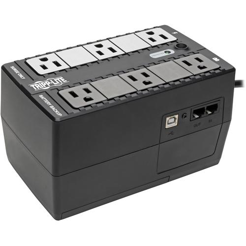 Tripp Lite UPS 350VA 210W Desktop Battery Back Up Compact 120V USB RJ11 PC
