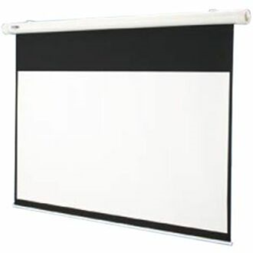 Salara Electric Hard-Wired Front Projection Screen - 31.75 x 56.5 - 65 Diagonal - HDTV Format (16:9 Aspect) - Matte White