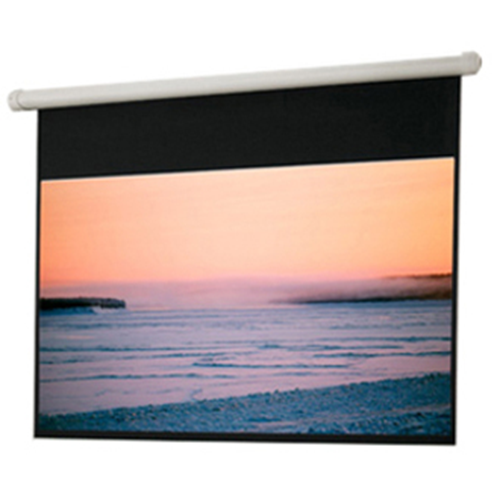 Salara Electric Hard-Wired Front Projection Screen - 84 x 84 - 119 Diagonal - Square Format - Matte White