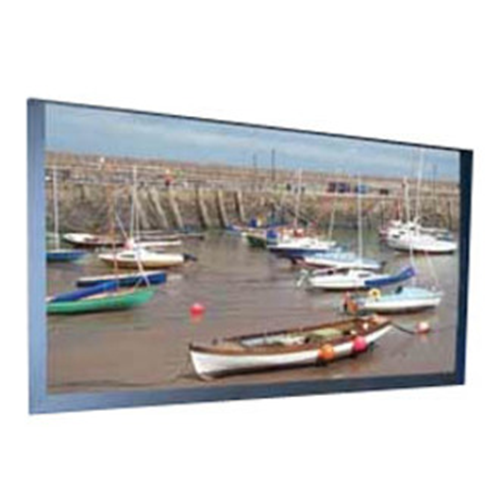 Onyx Manual Projection Screen - Permanently Tensioned - 52 x 92 - 106 Diagonal - HDTV Format (16:9 Aspect) - Hi Def Grey with Veltex Covered Frame