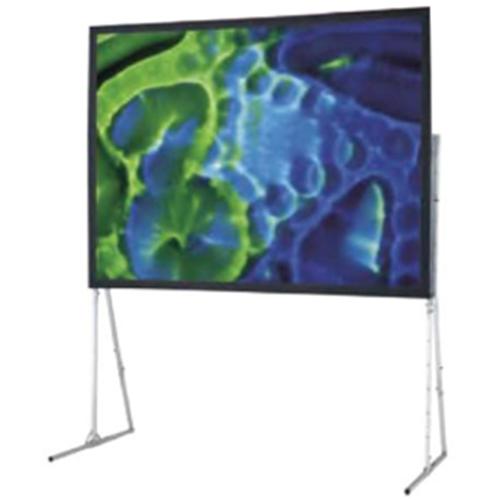 Ultimate Folding Rear Projection Screen with Standard Legs - 72 x 96 - 120 Diagonal - Video Format (4:3 Aspect) - Cineflex