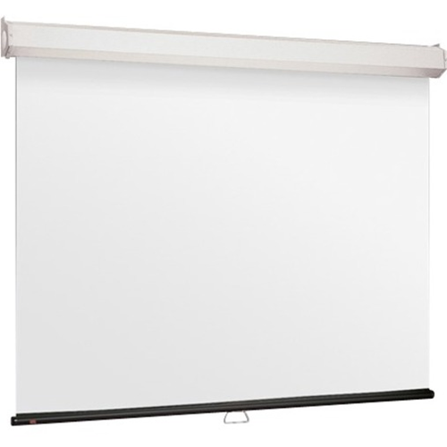 Luma 2 Manual Projection Screen - Wall or Ceiling Mounted - Non-Tensioned - 65 x 116 - 133 Diagonal - HDTV Format (16:9 Aspect) - High Contrast Grey
