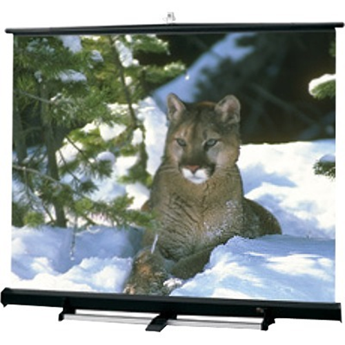 Luma 2/R Portable Projection Screen - 72 x 96 - 120 Diagonal - Square Format - Matte White with Black Plastisol Case