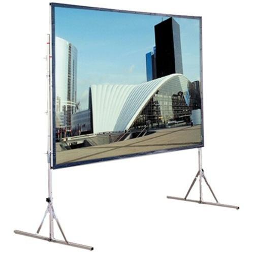 Cinefold Folding Portable Rear Projection Screen with Standard Legs - 79 x 140 - 161 Diagonal - HDTV Format (16:9 Aspect) - Cineflex