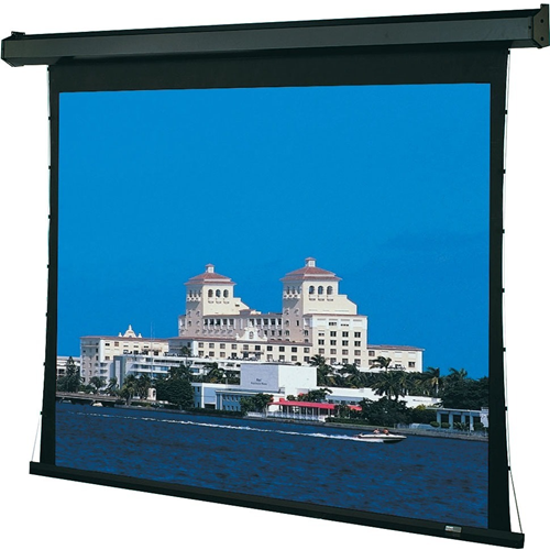 Premier Motorized Projection Screen - Wall/Ceiling Mounted - Tab-Tensioned - 45 x 80 - 92 Diagonal - HDTV Format (16:9 Aspect) - Hi Def Grey