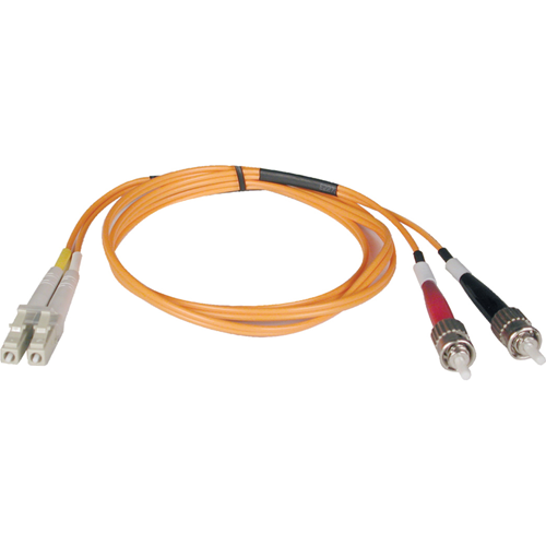 30M DUPLEX FIBER MULTIMODE LC/ST 62.5/125 PATCH CABLE