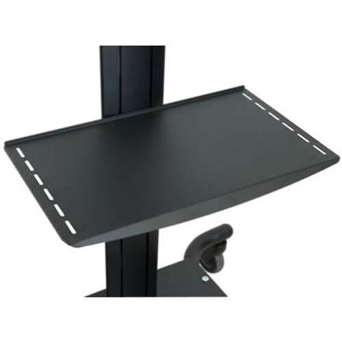METAL SHELF FOR SMARTMOUNT CARTS AND STANDS - BLACK