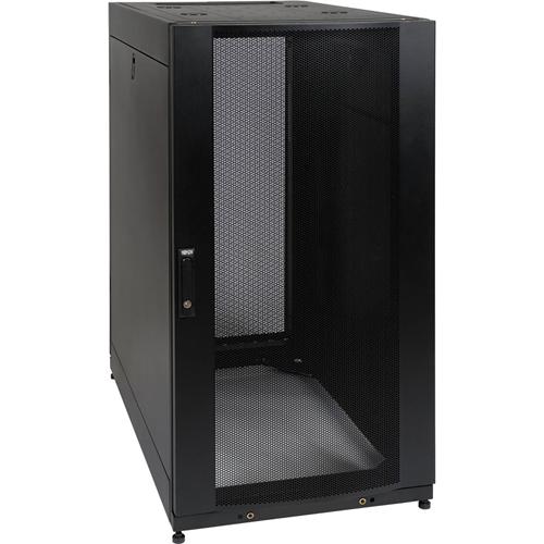 Tripp Lite 25U Rack Enclosure Server Cabinet Shock Pallet w/ Doors & Sides