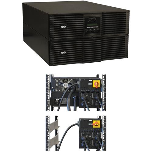 SMART ONLINE UPS 8000VA RK/TWR PURESINE 200-240V 6U 6 OUTLETS 8KVA