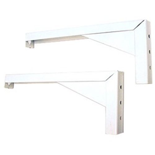 Elite ZVMAXLB12-W - Mounting component ( angle brackets ) for projection screen - white (pack of 2 )
