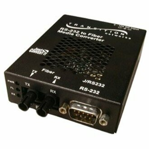RS232 SA MEDIA CONVERTER DB-9 MALE TO 1300NM MMF ST 2KM