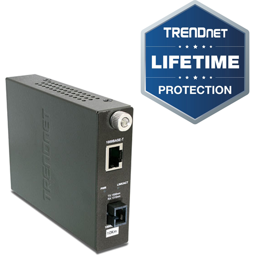 1000BASE-T TO WDM TX-1550 SINGLE MODE FIBER CONVERTER 10KM