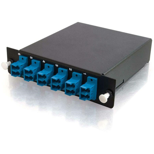 12-STRAND MTP-LC SM MODULE Q SERIES FIBER DISTRIBUTION SYSTEM