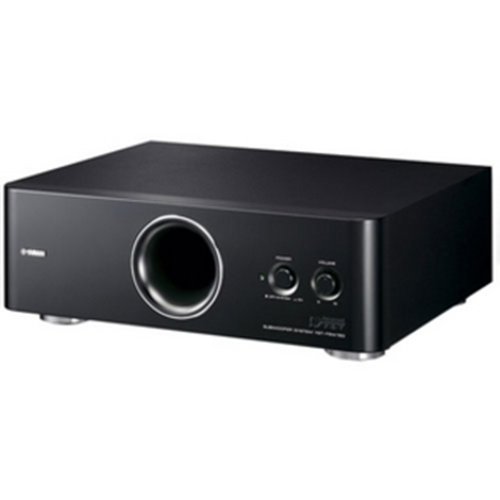 Yamaha YST-FSW150BL Advanced YST II Down-Firing Active Subwoofer is a new shaped subwoofer with Yamaha's latest technologies, including Advanced YST II, Linear Port and down-firing Active design plus. The Rack Mountable Design matches the surround systems