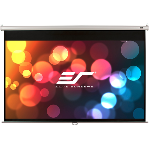 ELITE SCREENS M120XWV2 Manual Pull-Down Screen (120 ; 72 x 96 ; 4:3 Format)