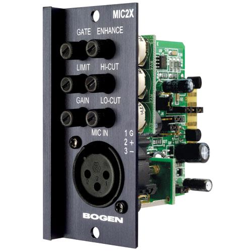 Bogen MIC2X Microphone XLR Input Module