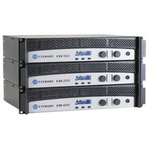 500W 2CH AMP WITH ON BOARD DSP