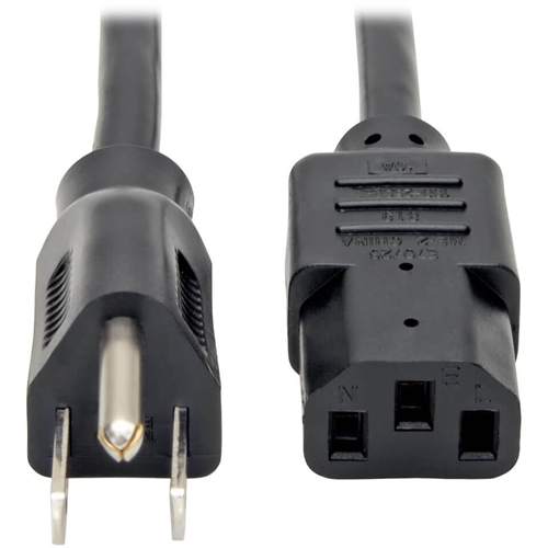 5PK 2FT NEMA 5-15P TO IEC-320-C13 POWER CABLES