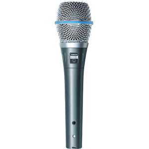 Shure BETA87A Supercardioid Electret Microphone