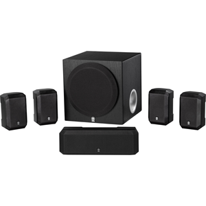 Yamaha NS-SP1800BL 5.1 Channel Home Theater Speaker Package (Black)