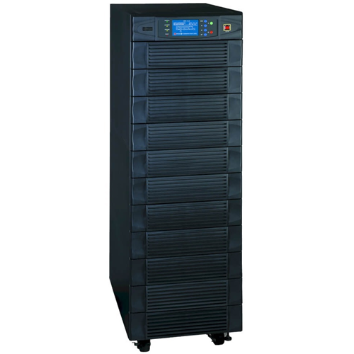 Tripp Lite's SU80K (80kVA) SmartOnline Modular 3-Phase Intelligent, True On-Line UPS System provides 100% system availability with N+1 modular architecture and 1+1 parallel capability. In an N+1 configuration, the SU80K features four self-contained, redun