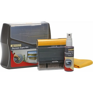 SCREEN CARE KIT W/GEL CLOTH BRUSH AND CASE