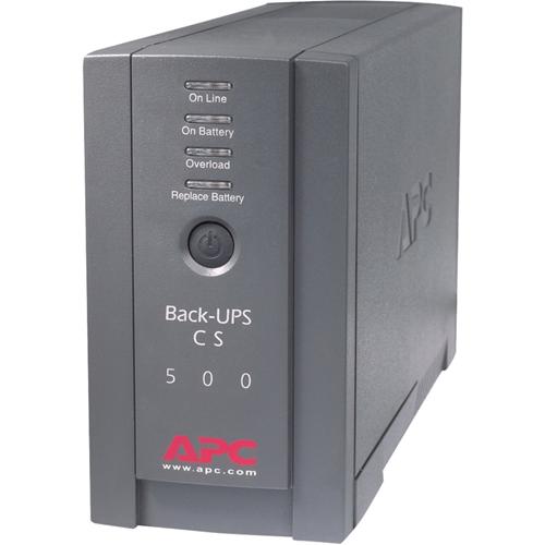 APC Back-UPS CS 500VA Tower UPS