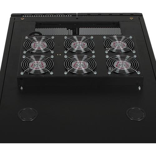 Tripp Lite Rack Enclosure Cabinet Roof Mount Fan Panel Airflow Mgmt 120V