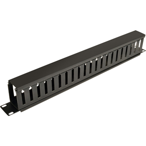 Tripp Lite Rack Enclosure Horizontal Cable Manager (finger duct) 1URM