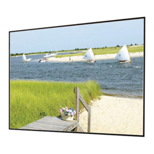 Draper Clarion with Veltex 252153 Fixed Frame Projection Screen
