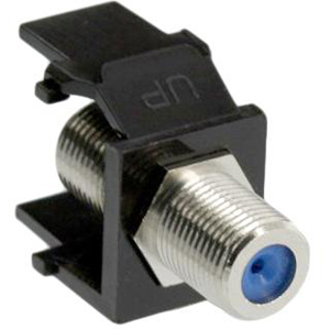 Leviton QuickPort Snap-In F-Type Adapter