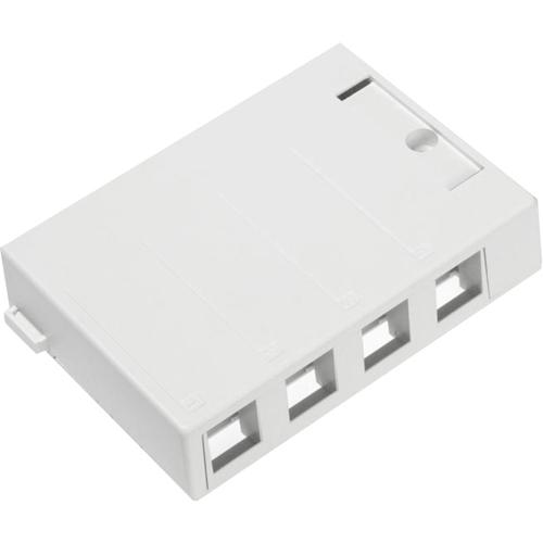 Leviton QuickPort 4 Socket Mounting Box