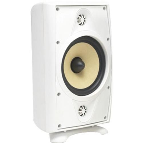 6 1/2â Outdoor Loudspeaker White