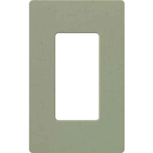 1-Gang Satin Decora Faceplate Greenbriar
