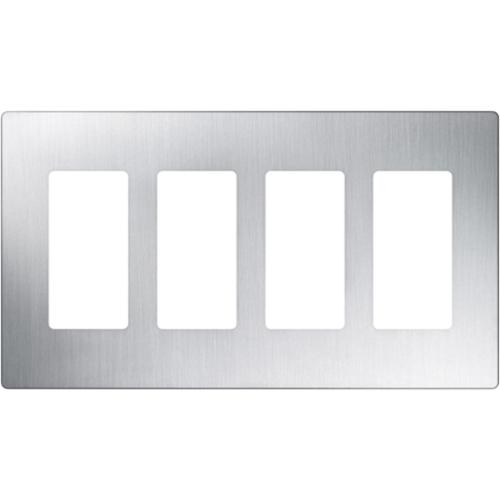 Lutron Claro CW-4-SS Faceplate